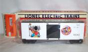 Lionel 6-19245 Mickey's World Tour Hi Cube Boxcar 1993 Disney O gauge Mouse