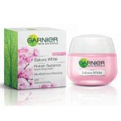 Garnier Skin Naturals Sakura White Pinkish Radiance Moisturising Cream with Sakura Extract Spf21/pa+++ 50 Ml. by molona