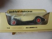 Models Of Yesteryear Y-19 - 1935 Auburn 851 - 1/42 Scale - Matchbox