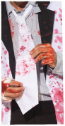 Halloween Fancy Dress Party Accessory Mad Doctor Blood Splattered Stained Tie