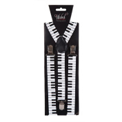 Piano Braces Accessory for Circus Clown Music Fancy Dress