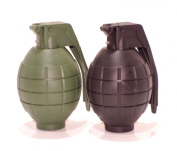 2x Toy hand grenades with sound - Count down tick and explosion sound