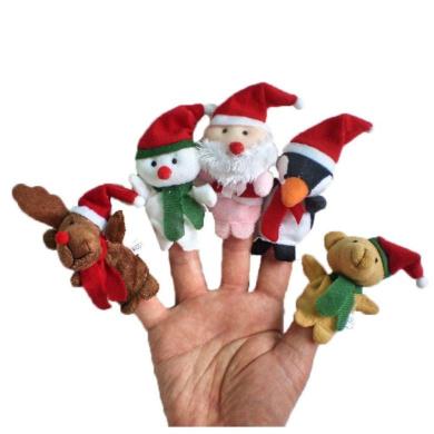 Christmas Finger Puppets -5Pcs