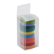 10 Rolls Washi Tape (0.75cm*5m) - Colourful