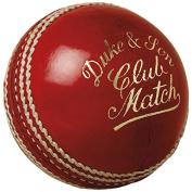 """Dukes Cricket Ball Club Match """"A"""" Mens 156g (160ml) Cricket Ball"""