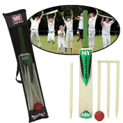 SIZE 3 CRICKET SET WITH STUMPS AND BALL OUTDOOR GARDEN BOYS GIRLS SPORT ACTIVITY