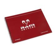Ram Cricket Scorebook - 120 Innings - Red Cover