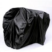 Nylon Waterproof Bicycle Cover Rain Resistant - Black, 200 x 75 x 110 cm
