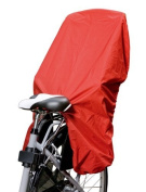 NICE 'N' DRY - Rain Cover for Child Bike Seats - red