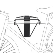 Wall-Mounted Foldable Bike Bicycle Holder - Loadable up to 50 kg