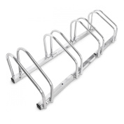 Bike Stand for 4 Bikes Ground and Wall Mounting