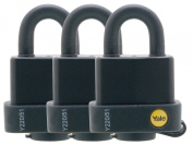 Yale Locks YALY220513PK 51 mm Weatherproof Padlock