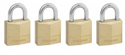 Master Lock 120EURQNOP 20mm Brass Padlocks Keyed Alike