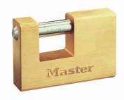 Master Lock 63mm Rectangular Solid Brass Padlock