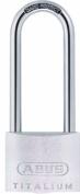 ABUS 64TI/50HB80 50 x 80mm Titalium Padlock with Long Shackle