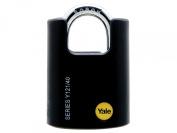 Yale Locks Y121 40mm Brass High Security Padlock Closed Shackle