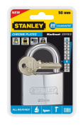 Stanley 81052 371 401 50mm Marine Solid Brass Chrome Plated Standard Shackle