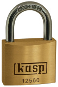 Kasp 125 Premium Brass Padlock - 60 Millimetres - KA25602 - Keyed Alike