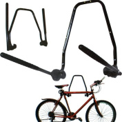 2 BIKE WALL MOUNTED BICYCLE HANGER CYCLE STORAGE MOUNT HOOK HOLDER STAND RACK