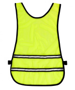 Time to Run High Visibility Reflective Running Bib Vest