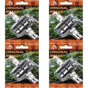 4 Pairs of V Brake Pads for Shimano SRAM Avid Tektro Diacomp (8 Pads) Bicycle