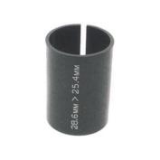 M:Part Threadless Shim Stem Adapter 1-18in 28.6mm - 1in25.4mm - Black , 28.6-25.4