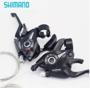 Shimano Ef-51 Shifter/brake Lever Combo (3 X 7 Speed) with Shift Cable Right + Left