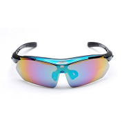 Fashion Men and Women Outdoor Sports PC Goggles Cycling Eyewear Retro Riding Sunglasses