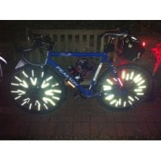 Pack Of 36 Premier Spoke Reflectors - For All Spoked Wheels - Bikes / Wheel Chairs / Scooter - FROM ROADUSERDIRECT