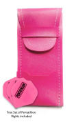 Pink Dart Case - Standard Bar Wallet & 1x free set of Pentathlon flights, great value and fantastic quality!