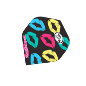 F6226 Hardcore Bad Girls Multi Lips Extra Thick Standard Dart Flights - 5 sets Per Pack
