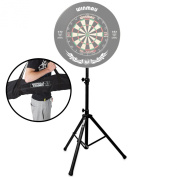 Gorilla Arrow Pro Portable Dartboard Professional Darts Caddy Dart Board Stand inc Carry Bag & Lifetime Warranty