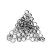 DARTS SILVER METAL STEM SPRING RINGS x 30 (10 sets) SHAFT SPRINGS RINGS