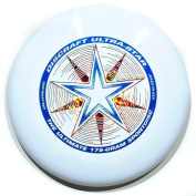 "Discraft Ultra Star 175g Ultimate Frisbee ""Starburst"" - white"