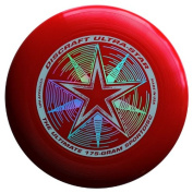 Discraft Ultra-Star 175g Ultimate Frisbee - Starburst - Red