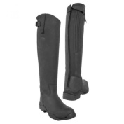 Toggi Calgary Long Leather Riding Boot With Full Zip, Standard Leg Fitting, In Black, Size