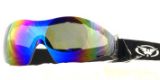 Shatterproof UV400 G-Tech Jockeys Riding Goggles For Point to Point, National Hunt, Flat Or Work Complete with Free Pouch