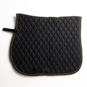 Elico Keswick Saddlecloth (choose from colours black/gold or navy/silver) - quilted saddlecloth