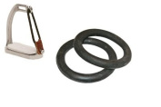 Black Rubber Rings For Peacock Safety Stirrup Irons