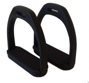 Atom Plastic Stirrups with Coloured Treads