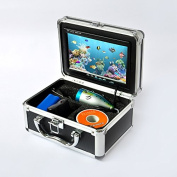 New 18cm TFT LCD Video Camera System Fish Finder HD 600TV Lines Underwater Camera