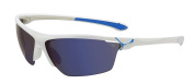 Cebe Cinetik Sportech 1500 Grey Category 3 Sunglasses - Shiny White/Blue, Large