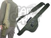 Deluxe Well Padded Travel Fishing Rod Holdall Carryall Case Bag 87cm Long