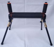 Match 4 Leg Competition Fishing Pole Roller with Extending Legs