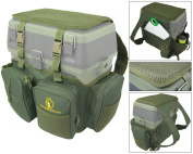 Ace AnglingTM Roving Backpack Fishing Seat Box Rucksack Converter - Fits All Roving Type Seat Boxes.