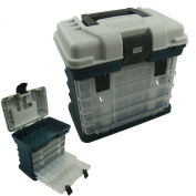 Storage Carry Case With 4 Adjustable Compartment Storage Boxes, Fishing Tackle Box, Lunar Box ®