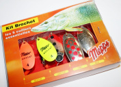 Mepps Spinner Kits**Trout**Pike**Perch Lure Packs Selections Comet Aglia Lusox Black Fury XD Minnow