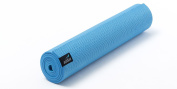 Addax Non-Slip Yoga Mat - Available in 3 Colours - Blue, Pink and Graphite, 4mm or 6mm thick