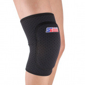 Anself Adjustable Breathable Knee Pads Knee Patella Support , Black