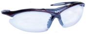 Mantis Squash Protective Eyewear - Black/Red